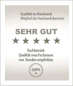 Qualität im Handwerk - Siegel